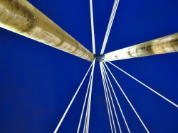 Abstract view of The Marine Way Bridge