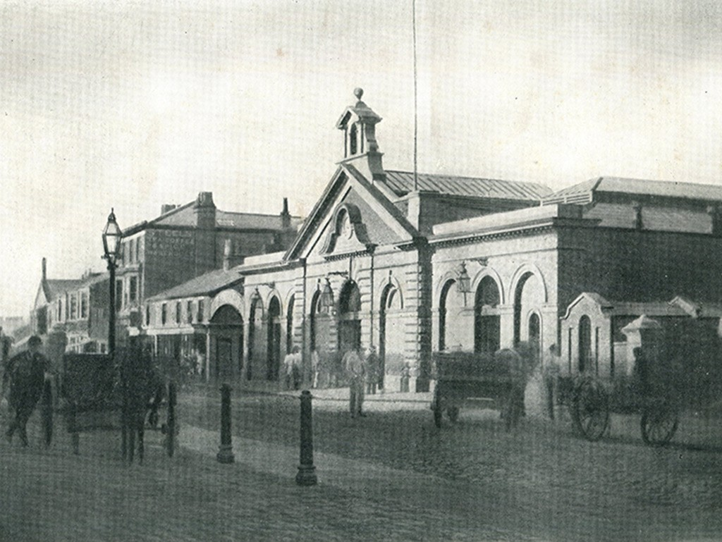 Southport's Second Market in Chapel Street