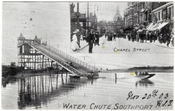 Chapel Street and Water Chute