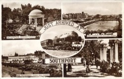 Southport Multiview Postcard