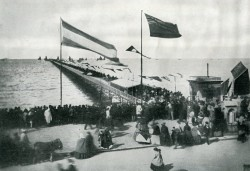 Opening of Southport Pier