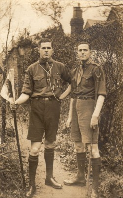 Two Scouts Ainsdale 1929